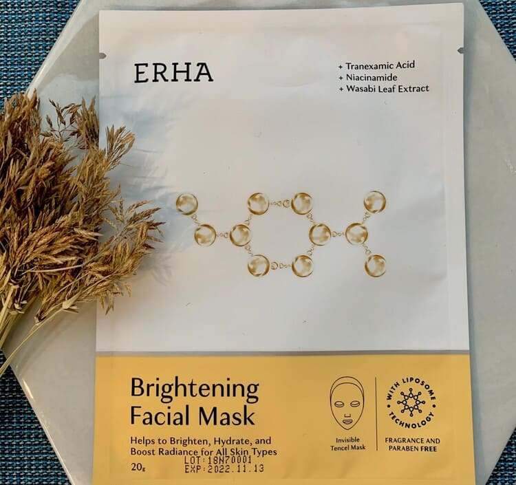 ERHA Brightening Facial Mask