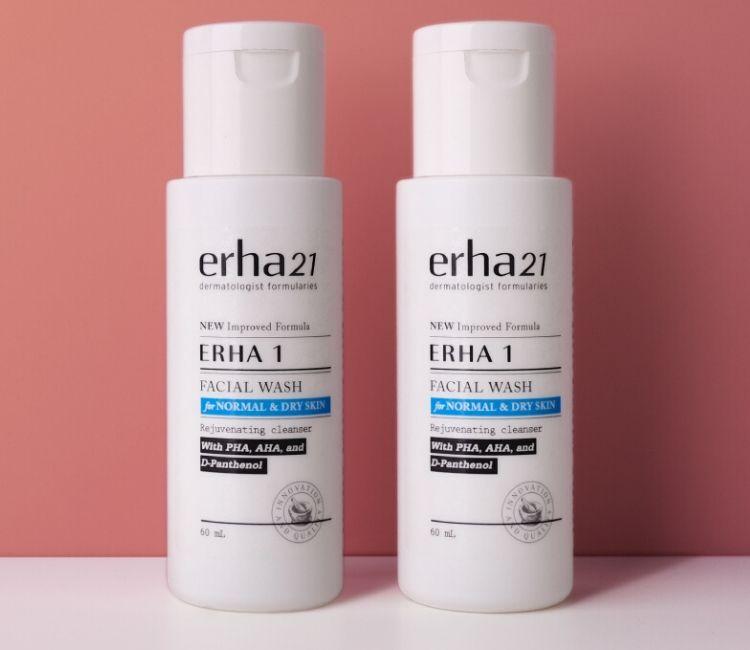 Ini Dia! Sabun Cuci Muka yang Sesuai Jenis Kulit Kamu - Erha 1 Facial Wash for Normal & Dry Skin