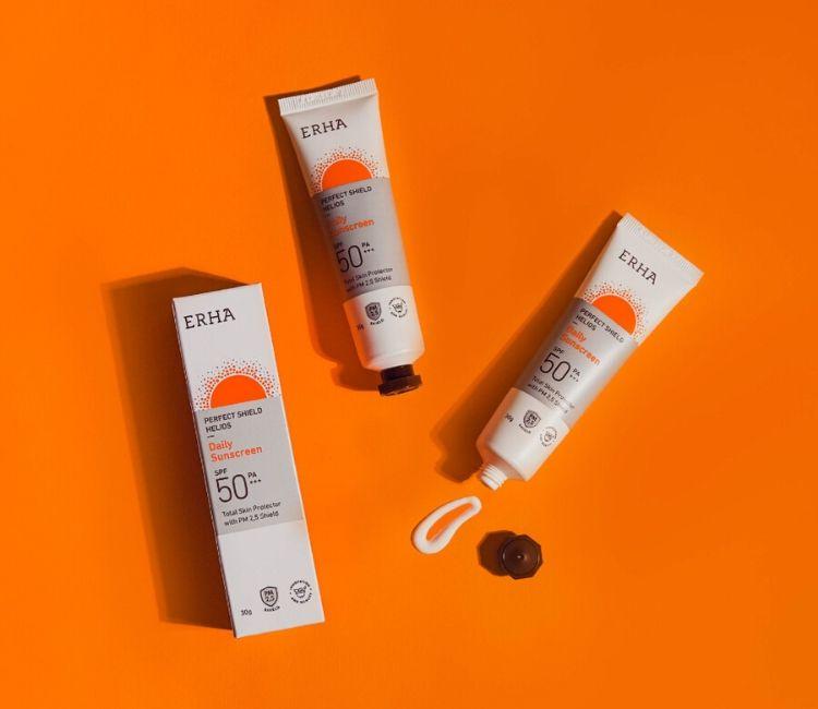 New Helios Sunscreen 5 cara atasi kulit & kering