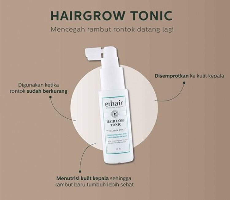 7 Tips Agar Rambut Bebas dari Rontok Walau Pakai Hijab! - Benefit Hair Loss Tonic