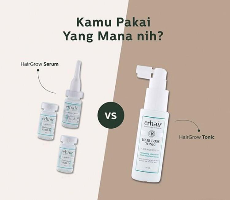 7 Tips Agar Rambut Bebas dari Rontok Walau Pakai Hijab! - HairGrow Serum vs Hair Loss Tonic