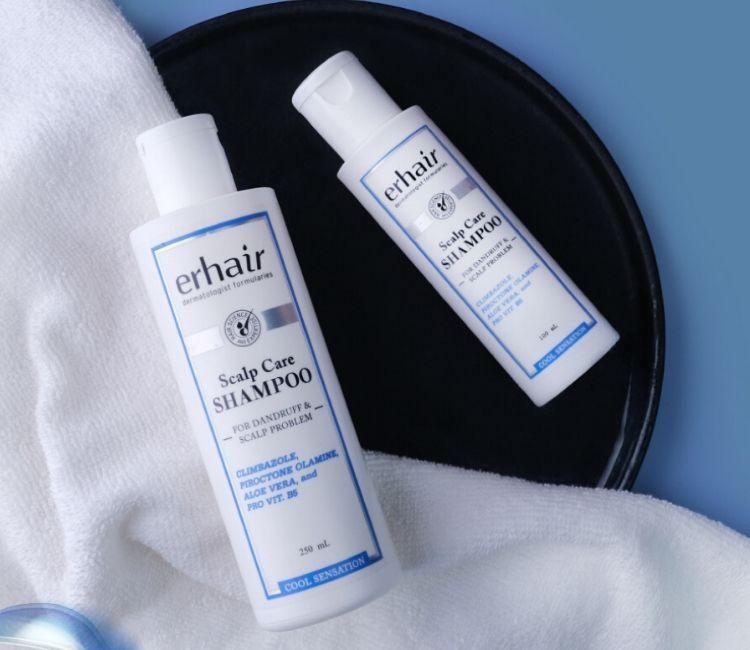 7 Tips Agar Rambut Bebas dari Rontok Walau Pakai Hijab! - Scalp Care Shampoo