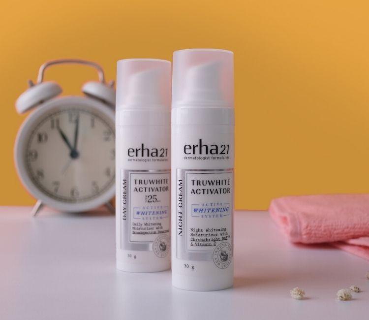 TruWhite Activator Day & Night Cream - ERHA