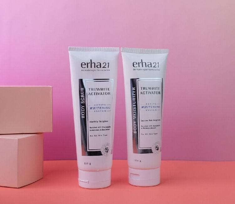 Mau Mencerahkan Kulit Tubuh? Ini 2 Rekomendasi Produk Body Brightening dari ERHA!