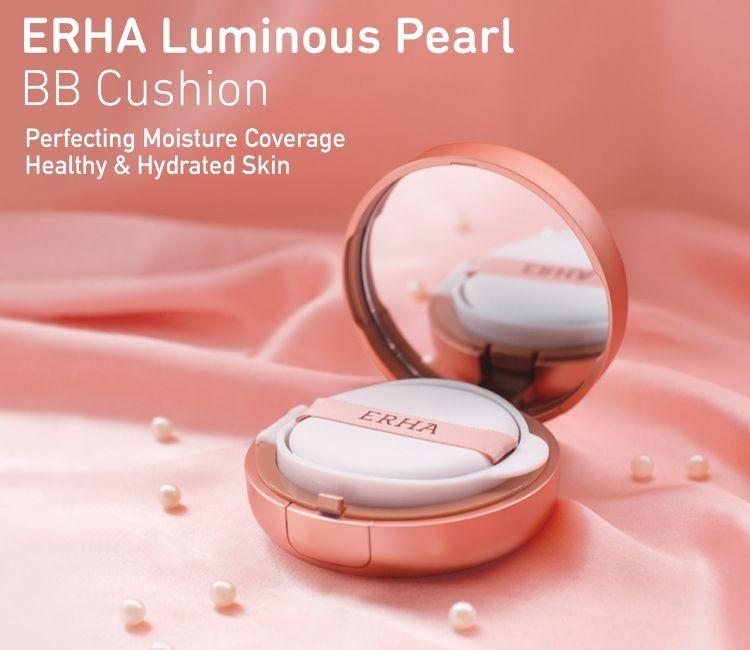 ERHA Luminous Pearl BB Cushion, Produk Cushion Foundation Praktis Cocok Digunakan Setiap Hari