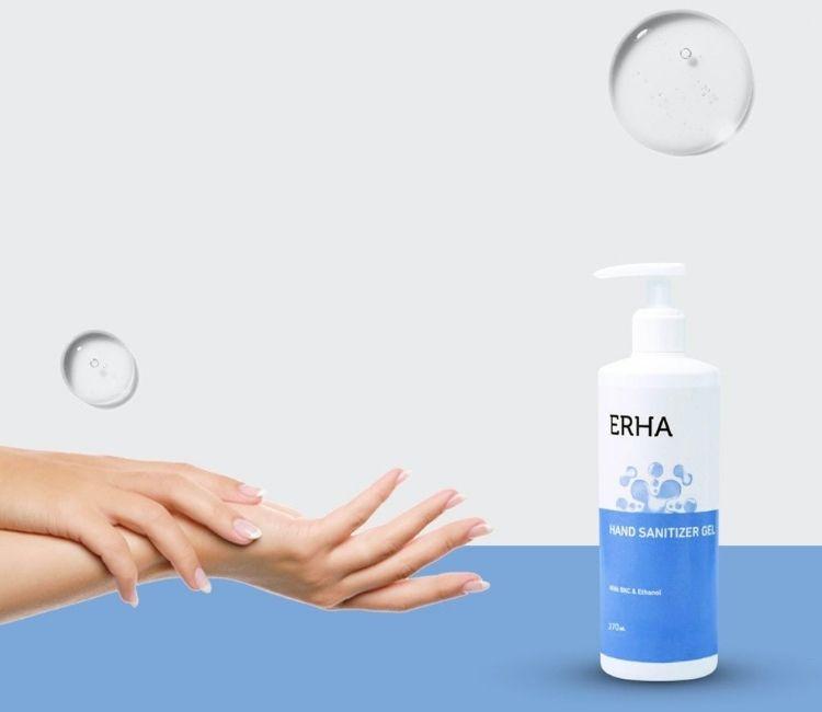 Just Landed: Family Size Hand Sanitizer ERHA. Ini Kelebihannya!